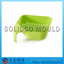 Alta qualidade usado molde de injeção de coador de plástico