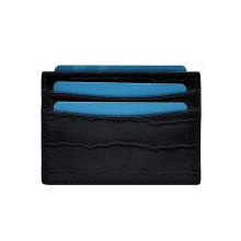 Porte-cartes minimaliste en cuir pour portefeuille