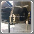 Waterproof heavy duty dual cab aluminum ute canopy with lifting jacks