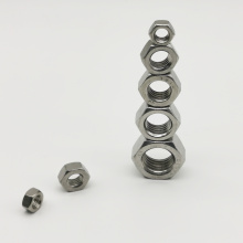 A2 A4 Metric Stainless Steel Hex Nut DIN934