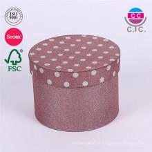 hochwertige runde Aufbewahrungsbox mit Deckel