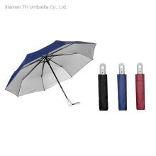 Stainless Steel Auto Open&Close Folding Umbrella Rain Umbrellas
