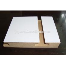 one side solt mdf board,magic melamine coated mdf board,slotting mdf