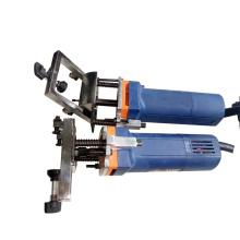 Portable pvc window water slot milling machine