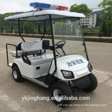 2 + 2 asientos carrito de golf de la policía