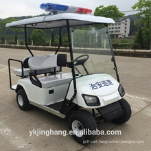 2+2 seats police golf cart