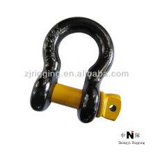 black adjustable shackle