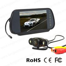 7inches espejo de pantalla LCD con cámara de vídeo
