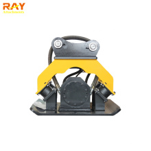 Hydraulic soil compactor for excavator used