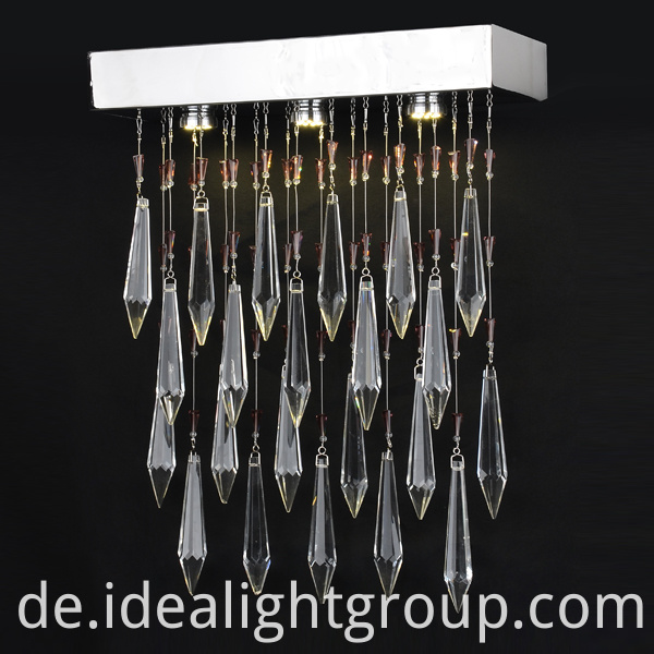led round chandelier