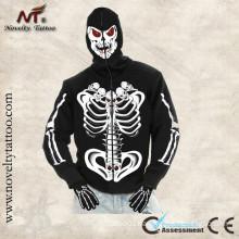HM-100222 China Black Zipper Hoody Men