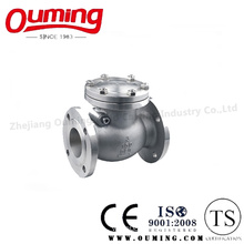 JIS Standard Stainless Steel Flanged Check Valve