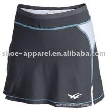 Sweat wicking grey color tennis skirts oeko-tex 100&200