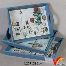 Latest Vintage Wooden Bakery Trays