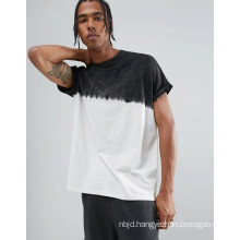 Longline Oversized Roll Sleeve T-Shirt