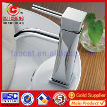 Brass Single Handle basin mixer faucet for bathroom 101137 ISO9001:2008 Certificate,lavatory faucet,chrome