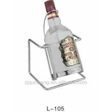 Porte-bagages en verre à vin