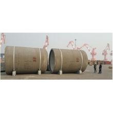 Tubo do cilindro de concreto