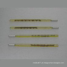 Termômetro oral de vidro Henso mercúrio