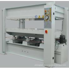 Holzbearbeitung Hydraulische Heißpressmaschine zum Laminieren