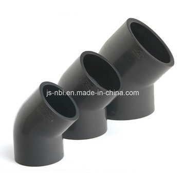 45 Degree UPVC Elbow for Water Pipeline Use