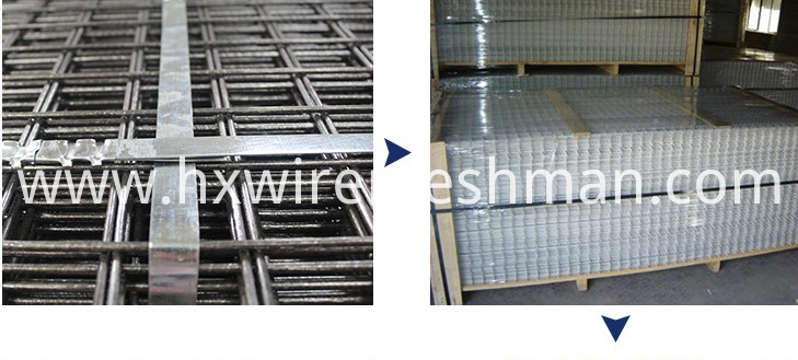 welded mesh packing