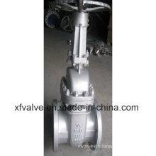 ANSI 150lb Joint en acier au carbone Wcb Flange End Gate Valve