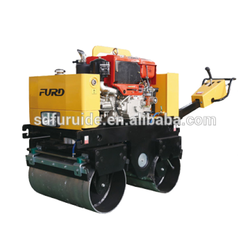 Mini portable Hand push type diesel engine road roller compactor Mini Hand push type diesel engine road roller compactor