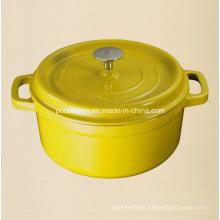 7.2L Enamel Cast Iron Dutch Oven Size Dia 28cm