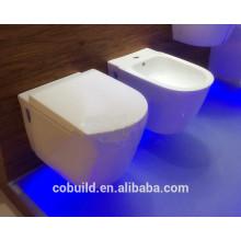 "4""draining hole toilet Closet Ceramic toilet bowl Siphonic One-piece Toilet"