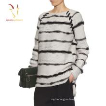 Compre suéteres de manga larga grandes caídas de gran tamaño