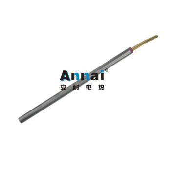 Aquecedor de cartucho de aço inoxidável de extremidade única com fio de níquel