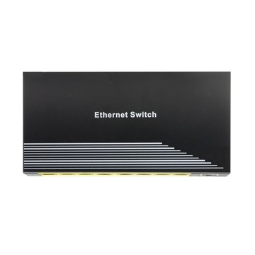 Fast Ethernet POE Switch 8 Ports 802.3AF Output