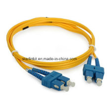 Fiber Patch Cord Single Mode 9/125um Sc to Sc