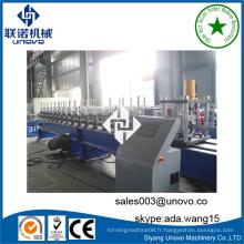 Unovo machines supplier steel ZC purlin rolling machine