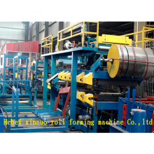 Xinuo manufacturer high quality rock wool eps roofing steel sandwich panel equipment