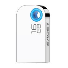 Mini USB Flash Drive Prateado 8GB-128GB