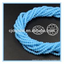 Perles de verre rondelle en vrac perles de verre peu coûteuses