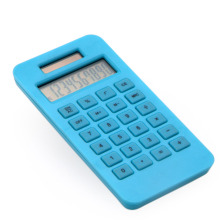 Eco Friendly 10 Digit Dual Power Pocket Calculator