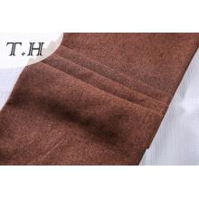 Tela de lino marrón claro hecha en Dama Tongxiang