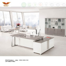 Contemporary L Shape Office Desk Office Table, Manager Executive Desk (H70-0172)