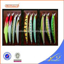MNL092 HATSUGA 20cm 120g hard body plastic lure tuna minnow fishing lure bait