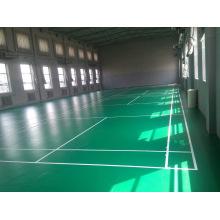 Компания bwf сертификат высокое качество ПВХ спортивные покрытия, используемые для бадминтона 4.5 мм/Толщина 5mm