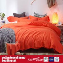 Cotton Lyocell Hemp Blended Linen Set Venta directa de fábrica