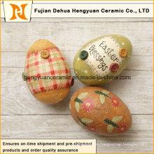 Красочные керамические пасхальные яйца