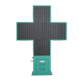 Personalizzato P8 Impermeabile Led Farmacia Cross Sign Board