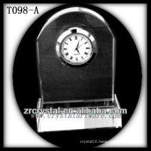 Wonderful K9 Crystal Clock T098-A