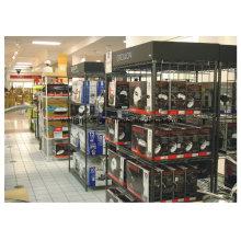 Schwarzes überzogenes Metalldraht-Haushaltsgerät-Präsentationsständer
