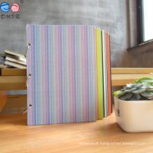 Livro de notas de folha flexível mais espiral de capa dura (XLX3296-X01)