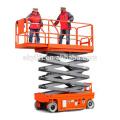 Mobile batteriebetriebene selbstfahrende Scherenhebebühne elektrische hydraulische Scherenhebebühne